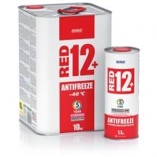 Antifreeze red 12+/-40 °С