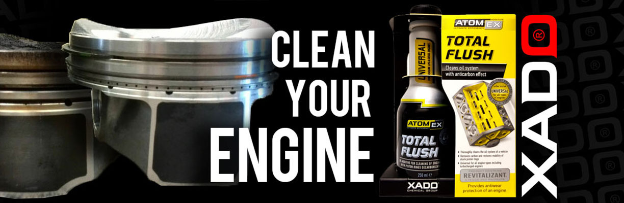 XADO Clean your engine